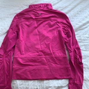Lululemon pink jacket